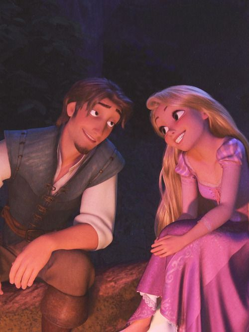 "Flynn- ""All a man has is his ego; we don't want to lose it."" Rapunzel- ""Oh no, we wouldn't want THAT..."" ;) lol"