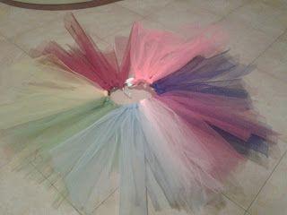 Un costume da arcobaleno