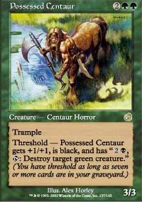 Possessed Centaur from Torment at TCGplayer.com as low as $0.15