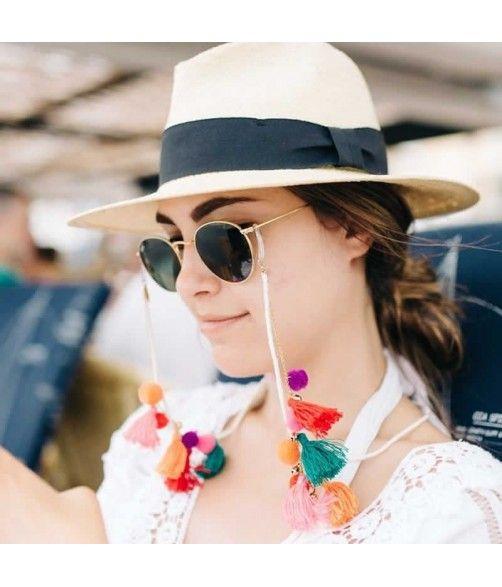 bafa47533602 Cordones Gafas de Sol con Borlas Rainbow   Products I Love   Cordon ...