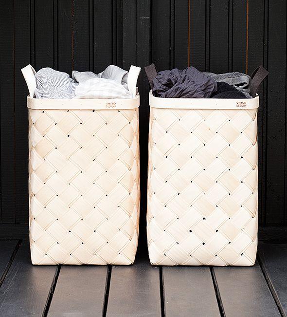 Birch baskets, Verso Design