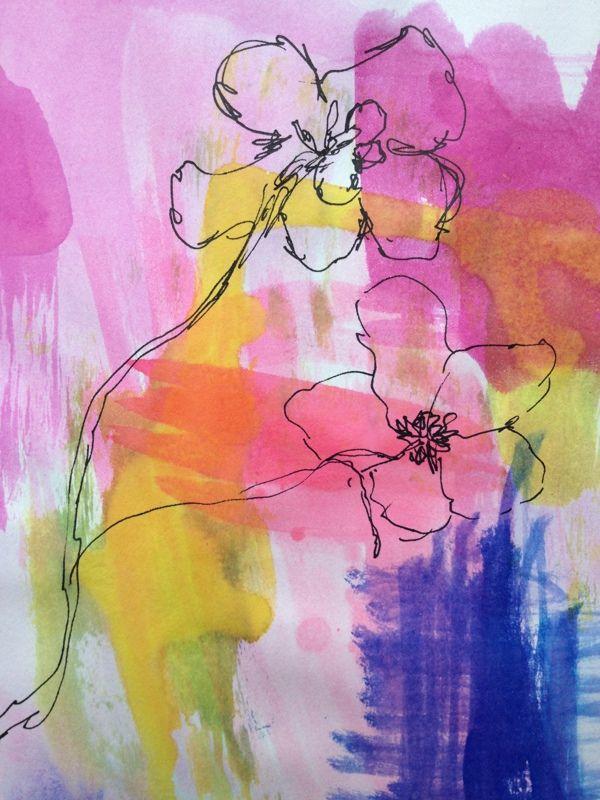 Paintings - Pen & Ink by Tamalia Reeves-Pyke, via Behance