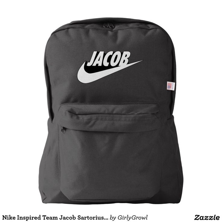 Nike Inspired Team Jacob Sartorius Bag Backpack