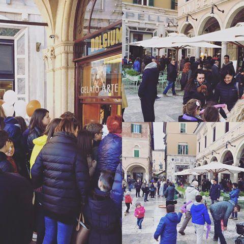 Grande festa del gelato #Pretto ad #AscoliPiceno #nelcuorediAscoli Caffè Meletti