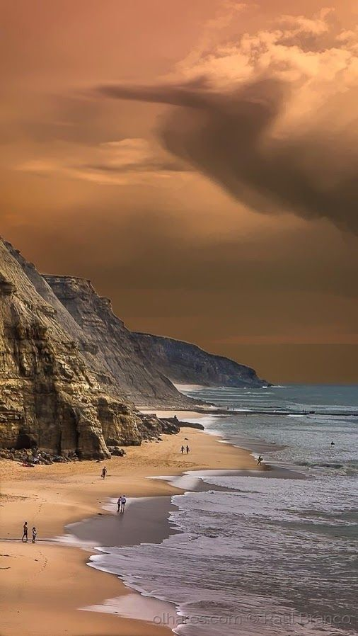 Sao Juliao beach, Portugal.