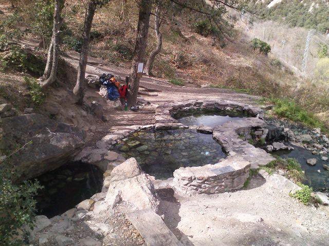bains chaud sauvage gratuit Pyrenees