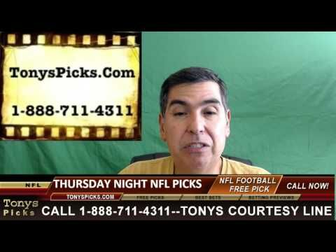 NFL Thursday Night Football Pick Betting Odds Predictions Point Spread P...