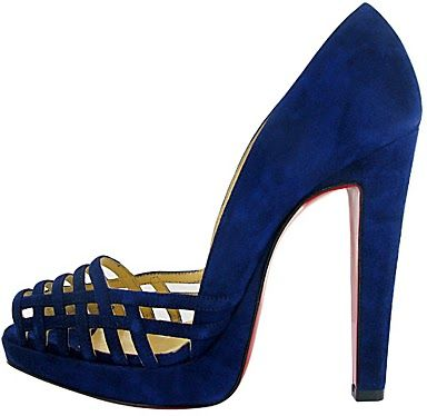 Christian Louboutin - I am a shoe lover but I think these are, take a picture pair of heels.