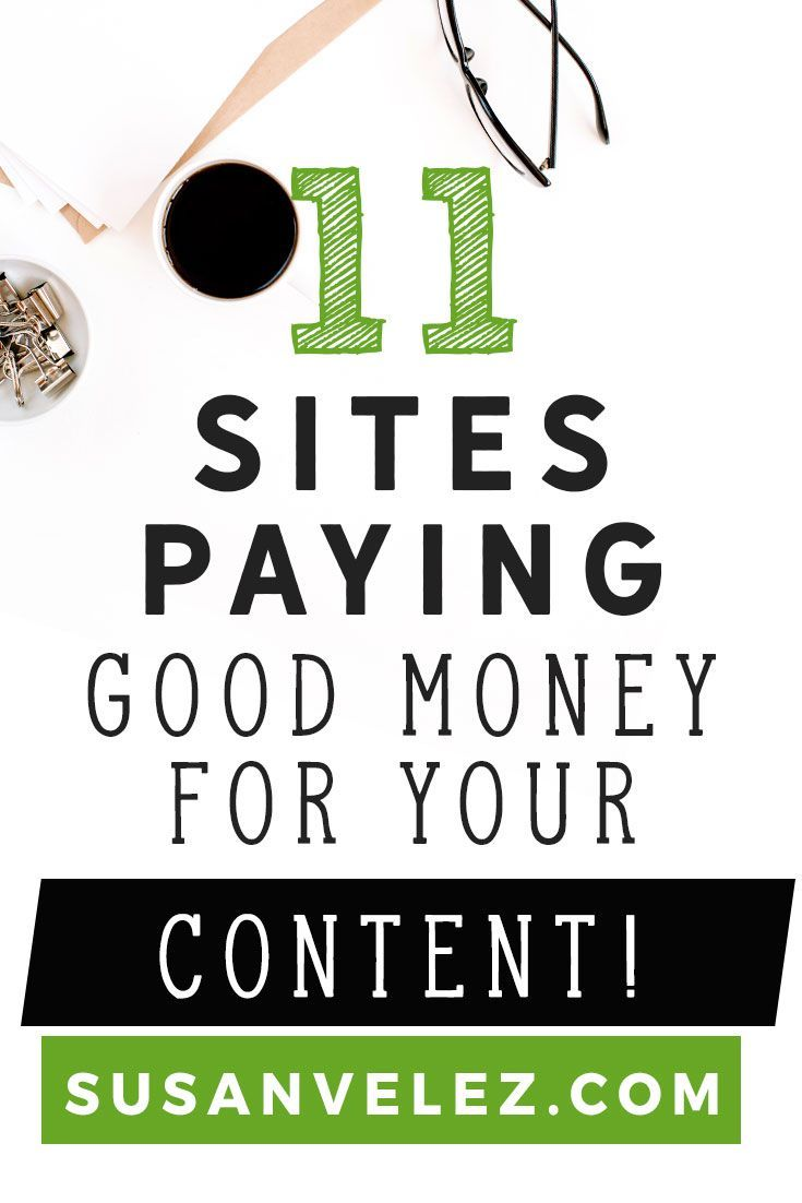11 blogging sites that pay you good money for your content. If you want another income stream then you might want to consider writing for these blogging sites that pay you to write content. Find out how to start getting paid for your content. https://susanvelez.com/blogging-sites-that-pay/
