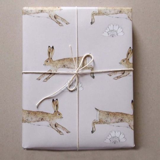 Rabbit Gift Wrap