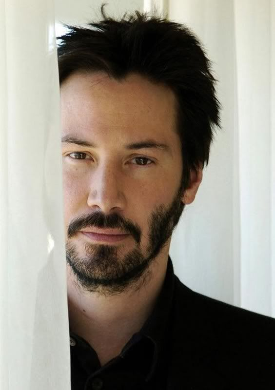 WHY DO WE LOVE KEANU? Because his eyes contain worlds... (chicfoo) keanu
