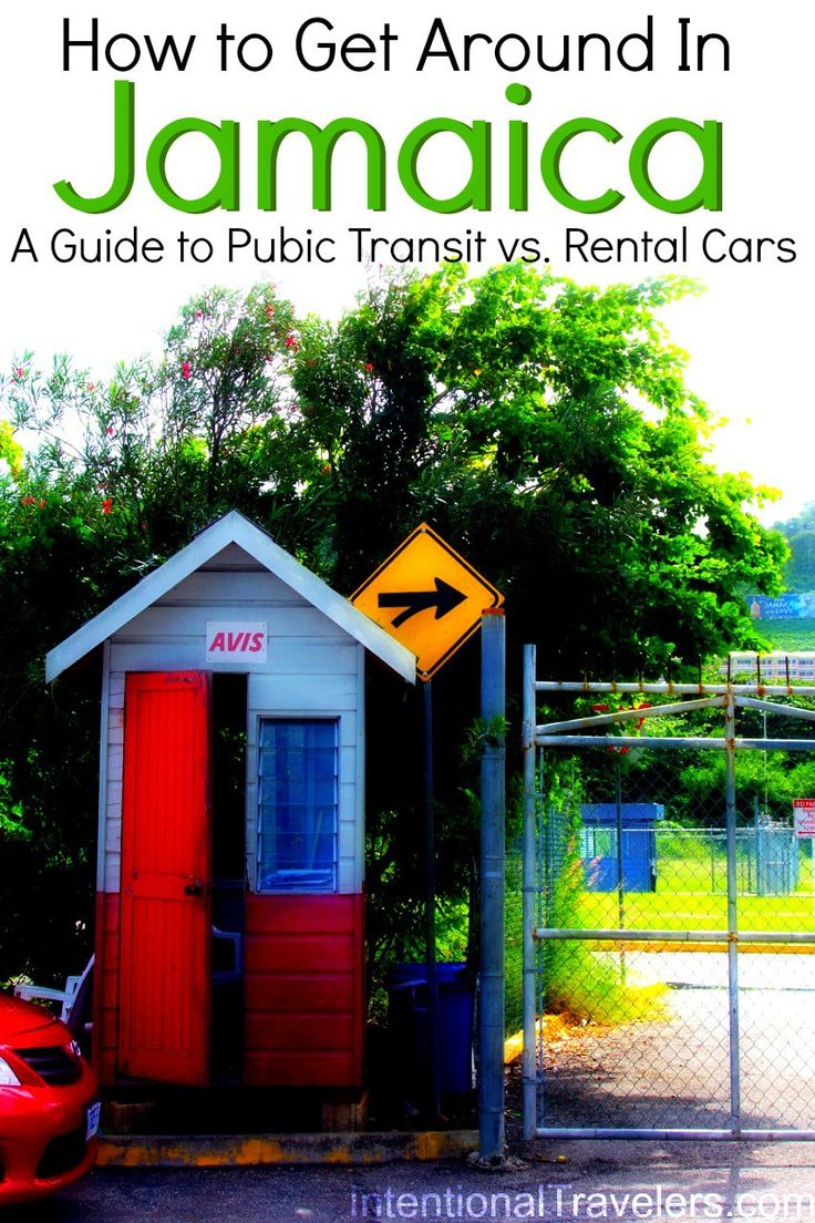 Should you drive in Jamaica? Public transit can be tricky, but so can driving a rental car... | Intentional Travelers