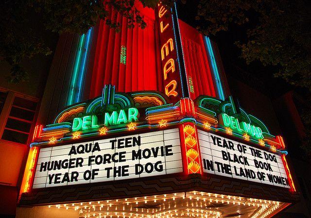 Del Mar theater - Santa Cruz by Steve Rhodes, via Flickr