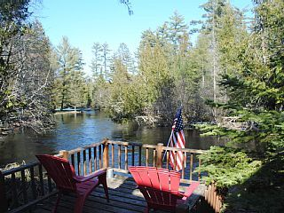 Merveilleux The+Pine+Bend+Cottage+ +A+classic,+knotty+Pine+AuSable+River+retreat+++Vacation  Rental In Northern Michigan From