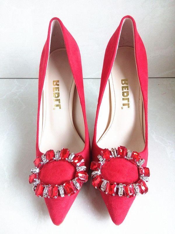 39.95$  Watch now - https://alitems.com/g/1e8d114494b01f4c715516525dc3e8/?i=5&ulp=https%3A%2F%2Fwww.aliexpress.com%2Fitem%2FBrand-Designer-Women-Shoes-High-Heels-Wedding-Shoes-Women-Flock-Pumps-12CM-Heels-Ladies-Shoes-Pumps%2F32659895124.html - Brand Designer Women Shoes High Heels Wedding Shoes Women Flock Pumps 12CM Heels Ladies Shoes Pumps High Heels Women Heels C-819