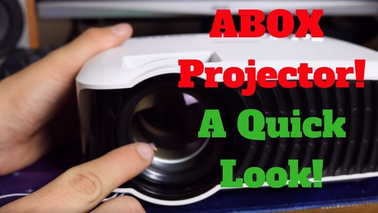 ABOX Projector Review - A Quick Look!