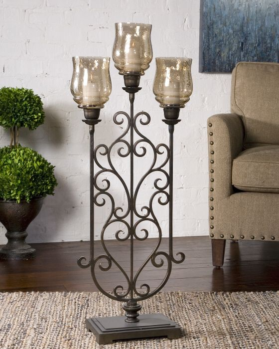 1000 images about large floor candle holders on pinterest for Floor candle holders