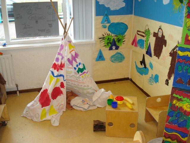 Tent van laken. achtergrond verven op behang