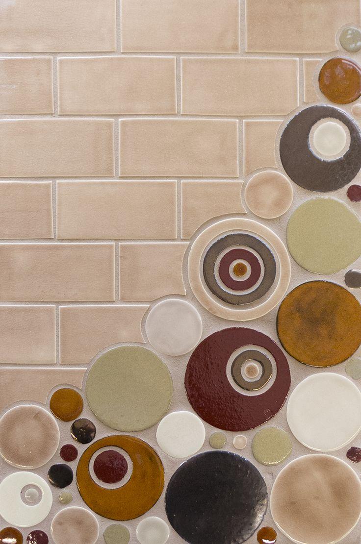 Circle Tiles 190 Best Element Tile Images On Pinterest Mercury Bathroom