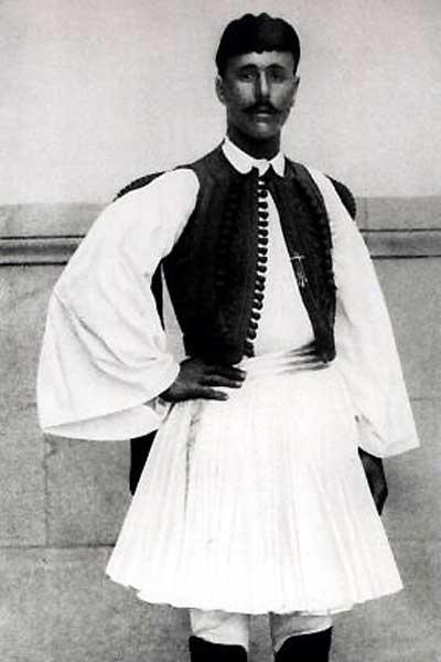 Spiridon Louis, winner of 1896 marathon