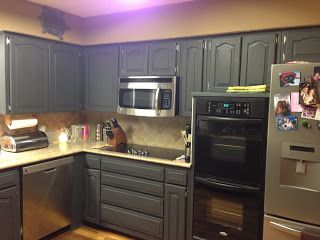 Wilker Do s  Using Chalk Paint to Refinish Kitchen CabinetsBest 25  Refinish kitchen cabinets ideas only on Pinterest  . Refinish Kitchen Cabinets. Home Design Ideas