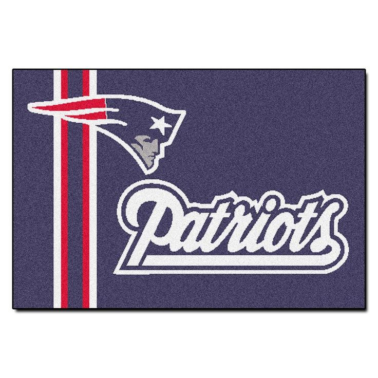NFL New England Patriots Uniform Inspired Navy Blue 1 ft. 7 in. x 2 ft. 6 in. Accent Rug
