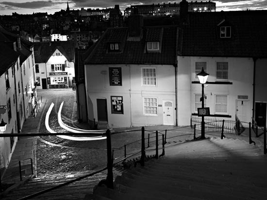 Night Photography in Whitby.