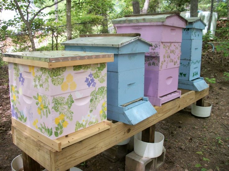 Beautiful Bee Hives! - The Official Website of Mid-State Beekeepers Association