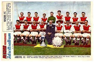 EQUIPOS DE FÚTBOL: ARSENAL 1953-54