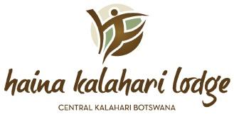 Haina Lodge logo  #kalahari #botswana #safari #africa #travel #bushmen #desert #bigfive #wildlife #animals #lodgeaccommodation #gameviewing