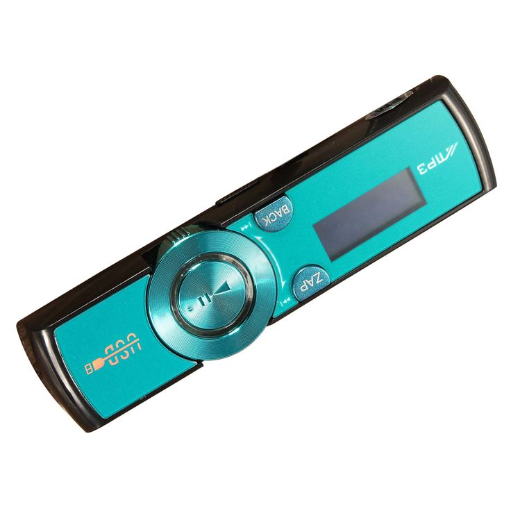 LCD USB MP3 Player FM Radio Player Support 16GB Micro SD TF Card With Headphones Blue. Click visit to buy