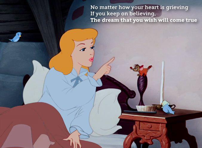 Disney songs Cinderella