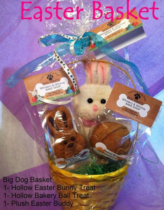 34 best easter dog treats images on pinterest dog treats pet dog treat easter basket negle Images