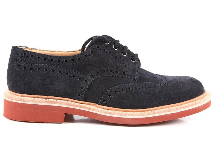 Church's Shoes Suede leather Blake (691650GRP)  http://www.outletdelfashion.it/man-shoes/?p=2687