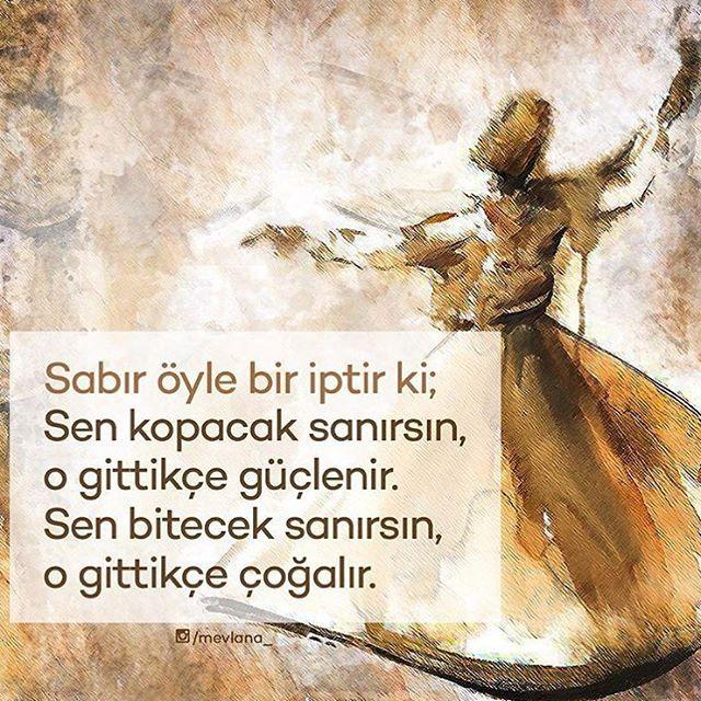 SIMSIKI SARIL O İPE ✊ #Sabır #Mevlana #HzMevlana #Rumi #Sımsıkı #Şems ÖNERİLEN SAYFA ➡️ @birayet