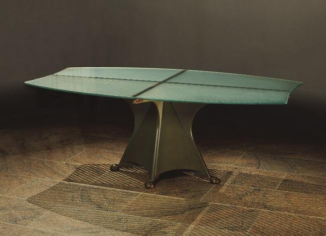 "Oscar Tusquets Blanca: ""Alada"" table (1990.68ab)   Heilbrunn Timeline of Art History   The Metropolitan Museum of Art"