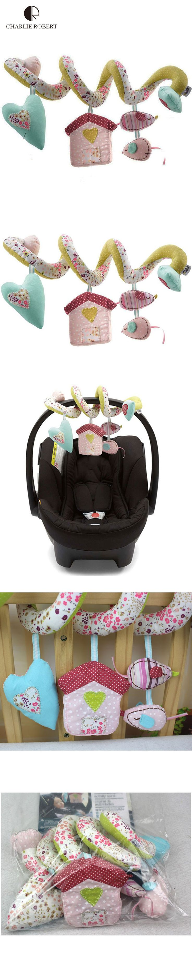 Baby bed like car seat - Vintage Flower Baby Toys Brand Baby Rattle Newborn Mobile Baby Music Rattles Baby Cot Beds Rattle