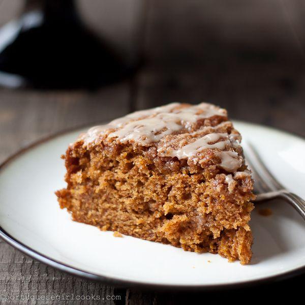 Sour Cream Coffee Cake With Brown Sugar Streusel Recipe ...