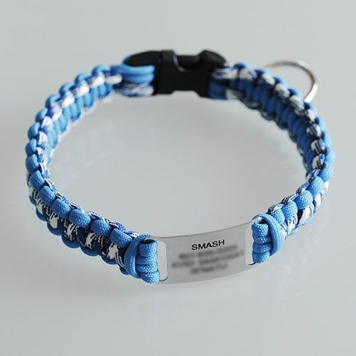 Review: ScruffTag Paracord Dog Collar by DogIDs Photo
