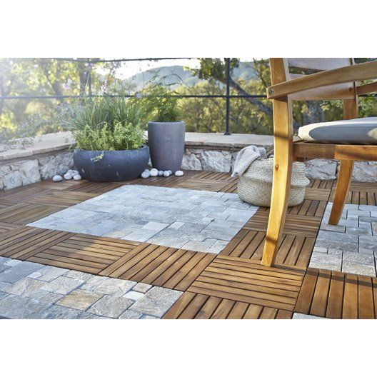 Dalle jardin leroy merlin best free leroy merlin jardin - Dalle clipsable leroy merlin ...