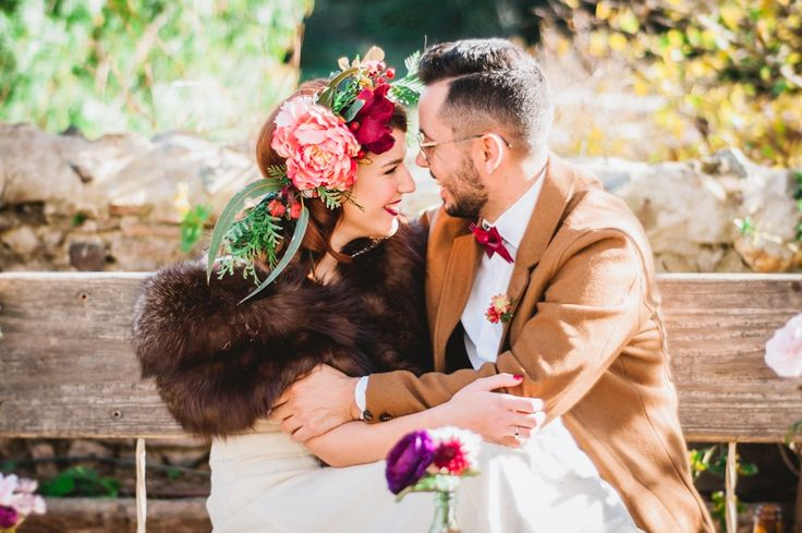 Una boda indie hipster en All Lovely Party
