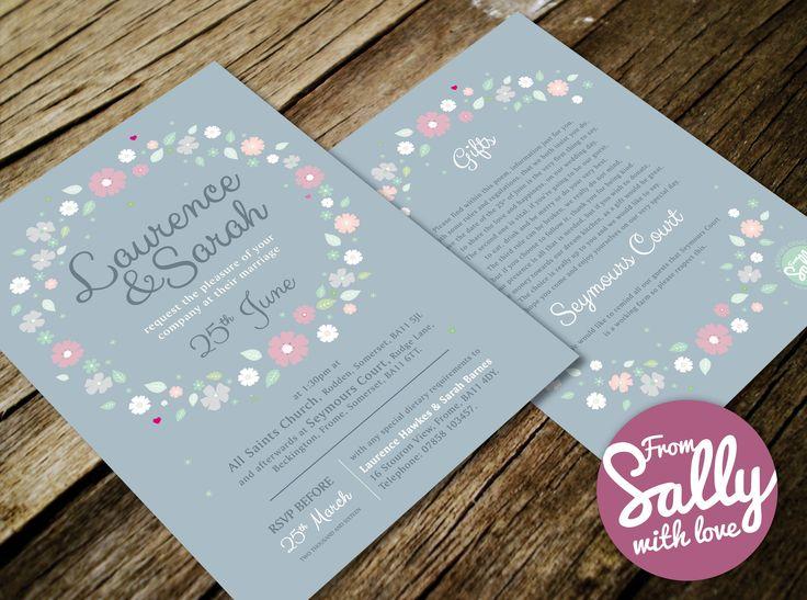 53 best Bespoke Wedding Invitations images on Pinterest