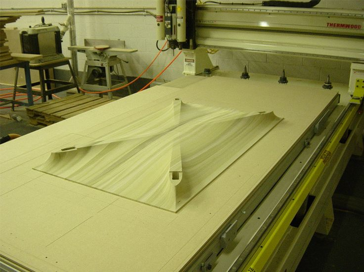 isabella table - CNC surface milled by Tietz-Baccon