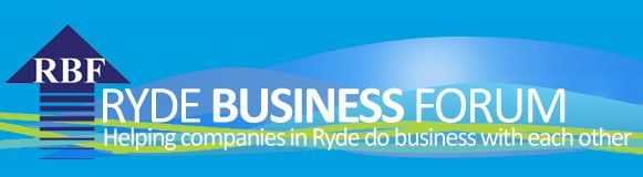 5 Aug - Ryde Macquarie Park Chamber After 5 with RBF. The Epping Club, 43-47 Rawson Street, Epping. http://www.rydebusiness.com.au/events/event-registration/?