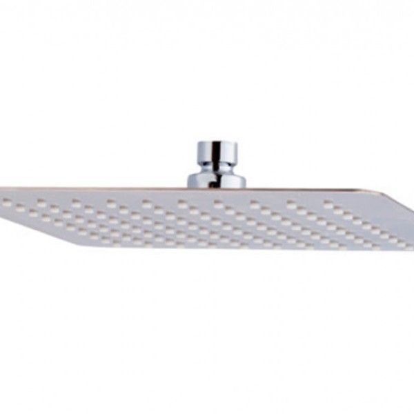 67.29€ Rociador de ducha cuadrado anti-cal en Inox. Dimensiones: 200 x 200 mm o 250 x 250 mm. Acabado Cromo. Entrada 1/2' Hembra.