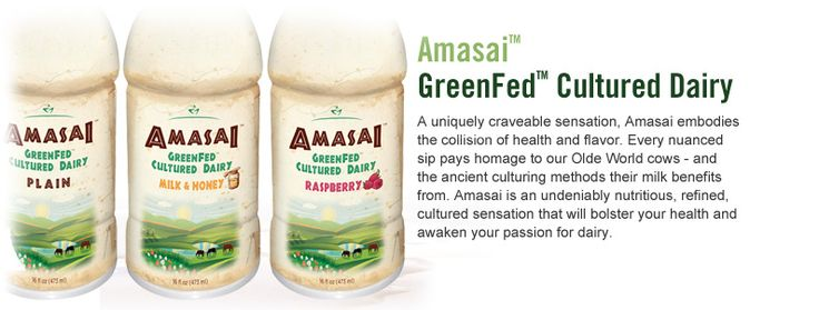 Beyond Organic's awesome cultured dairy drink, Amasai!  My absolute favorite product  :)  www.SoCalOrganic.biz $5