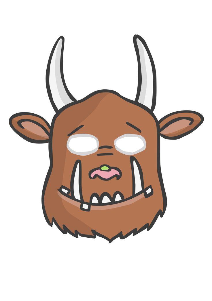 Masker 'de Gruffalo'