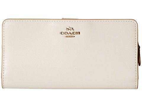 COACH Skinny Wallet. #coach #wallets