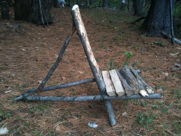 Bushcraft chair. Making this with my SO this weekend!