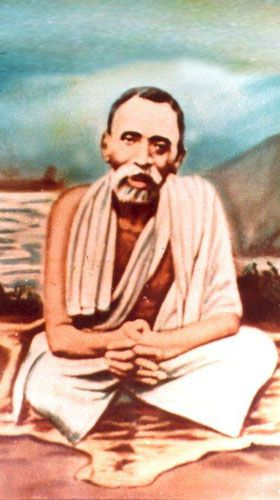 Sri Seshadri Swamigal, an Indian saint who lived in Tiruannamalai, Tamil Nadu. He was called the Saint with the Golden Hand